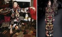 Valentino's Patchwork Frocks Recall Gloria Vanderbilt's ...