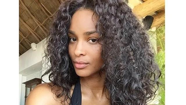 Ciaras Natural Curls on Instagram Vogue