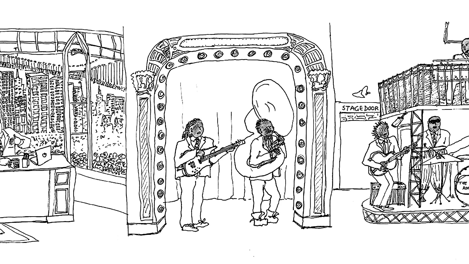 Graceful Appearance: Grace Coddington's Sketch for Late