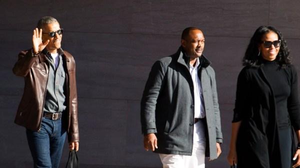Barack Obama And Michelle Chic Return Washington - Vogue
