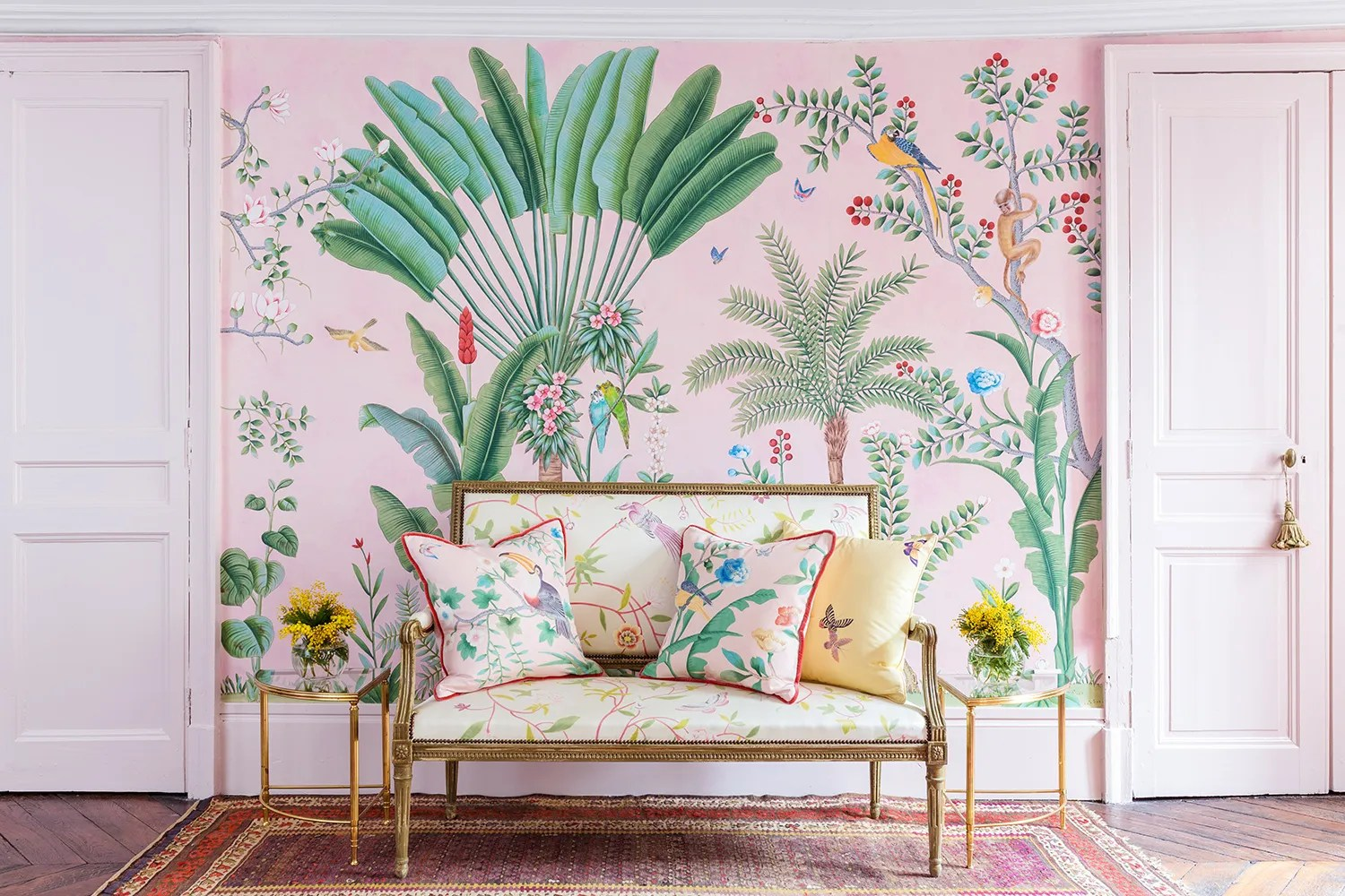 Lilly Pulitzer Fall Wallpaper This Wallpaper Collection May Be The Most Beautiful Thing