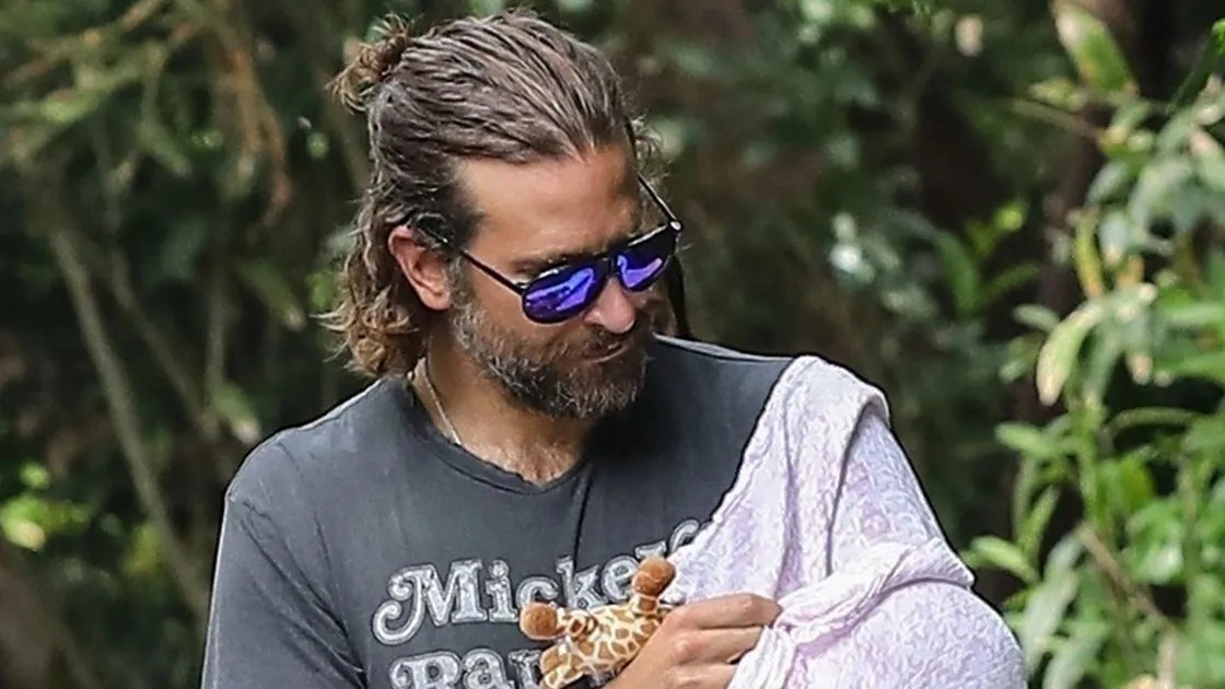 Bradley Coopers Man Bun Is Dad Hair Done Right Vogue