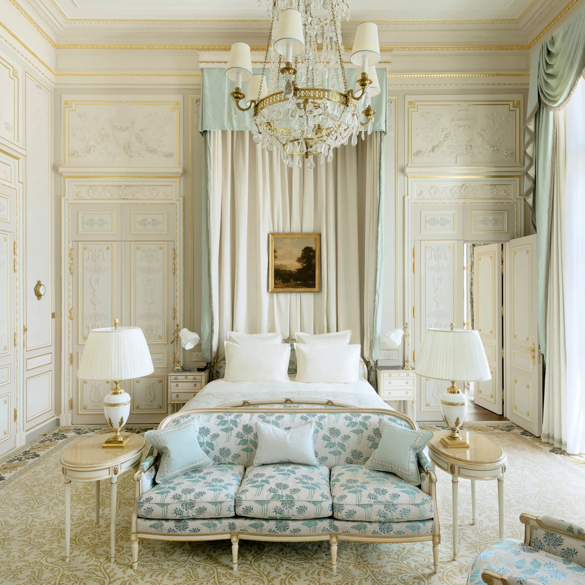 All the inviting rooms with tiled floors and shabby chic interiors are. 9 Grand European Mansions Where You Can Spend The Night Vogue