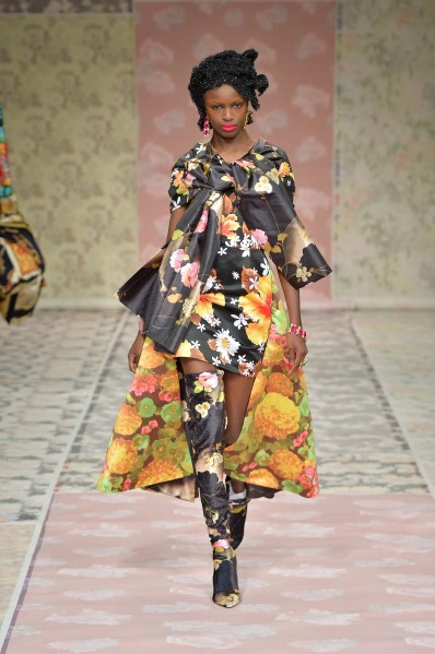 Richard Quinn florals Autumn 2018
