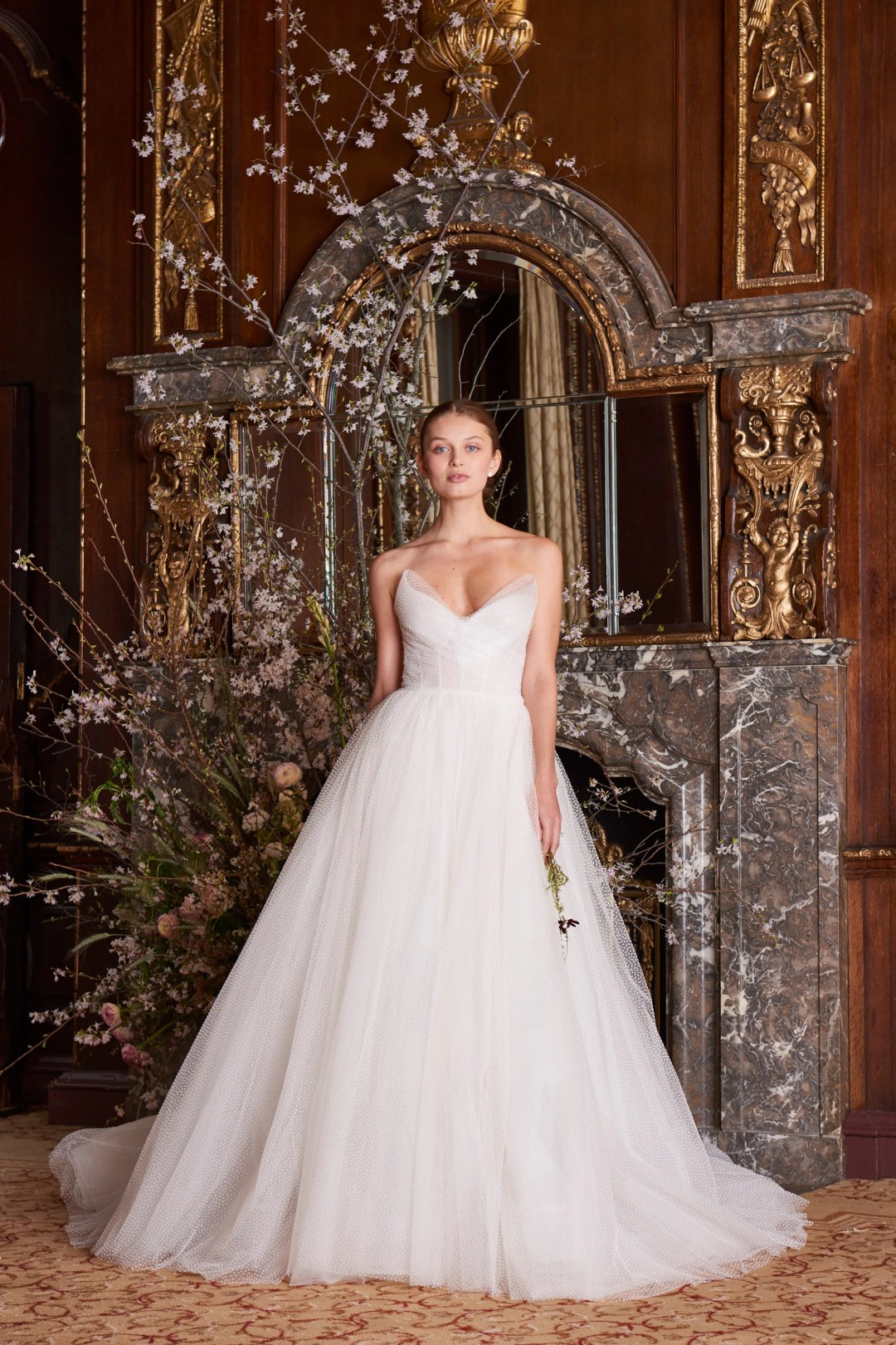 FULL COLLECTION: MONIQUE LHUILLIER Fall 2018 + Spring 2019 Bridal ...