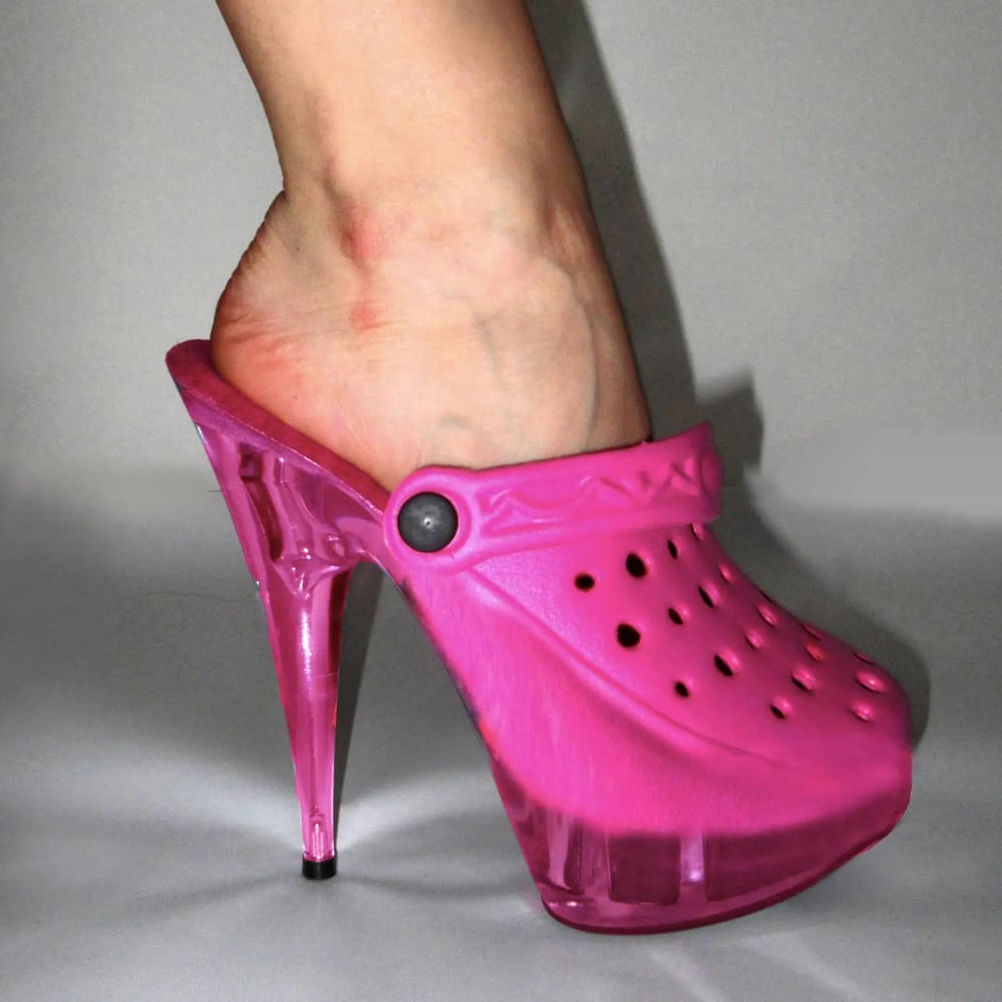 the croc heel by
