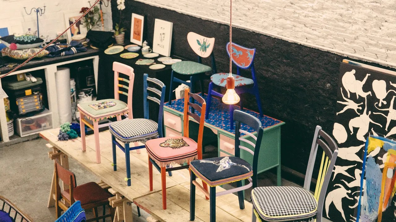 Studio Chairs With Room Defining Chairs And Playful Plates London S Shoopy