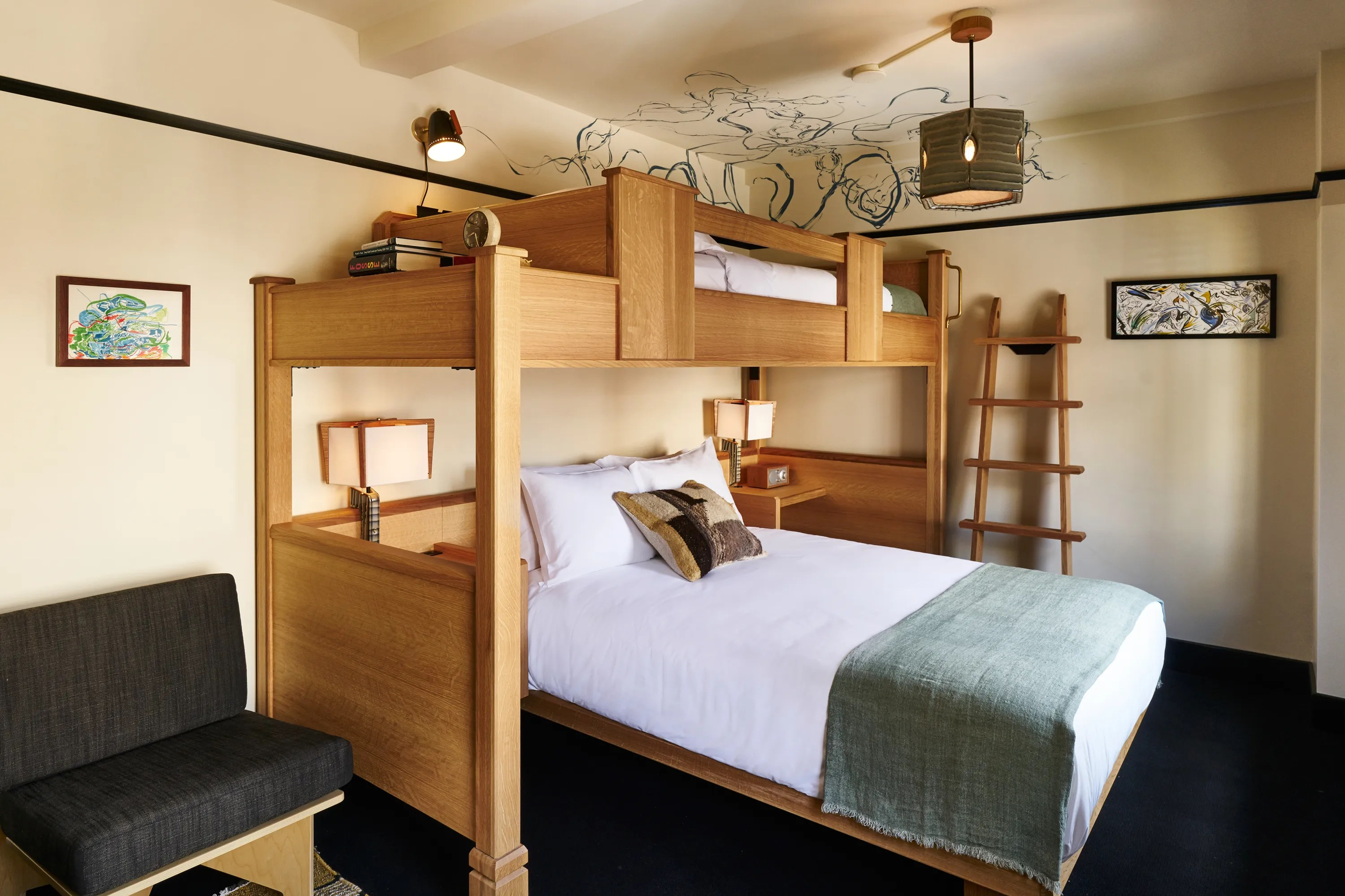 Stylish Hotels Are Bringing The Bunk Bed Back Vogue