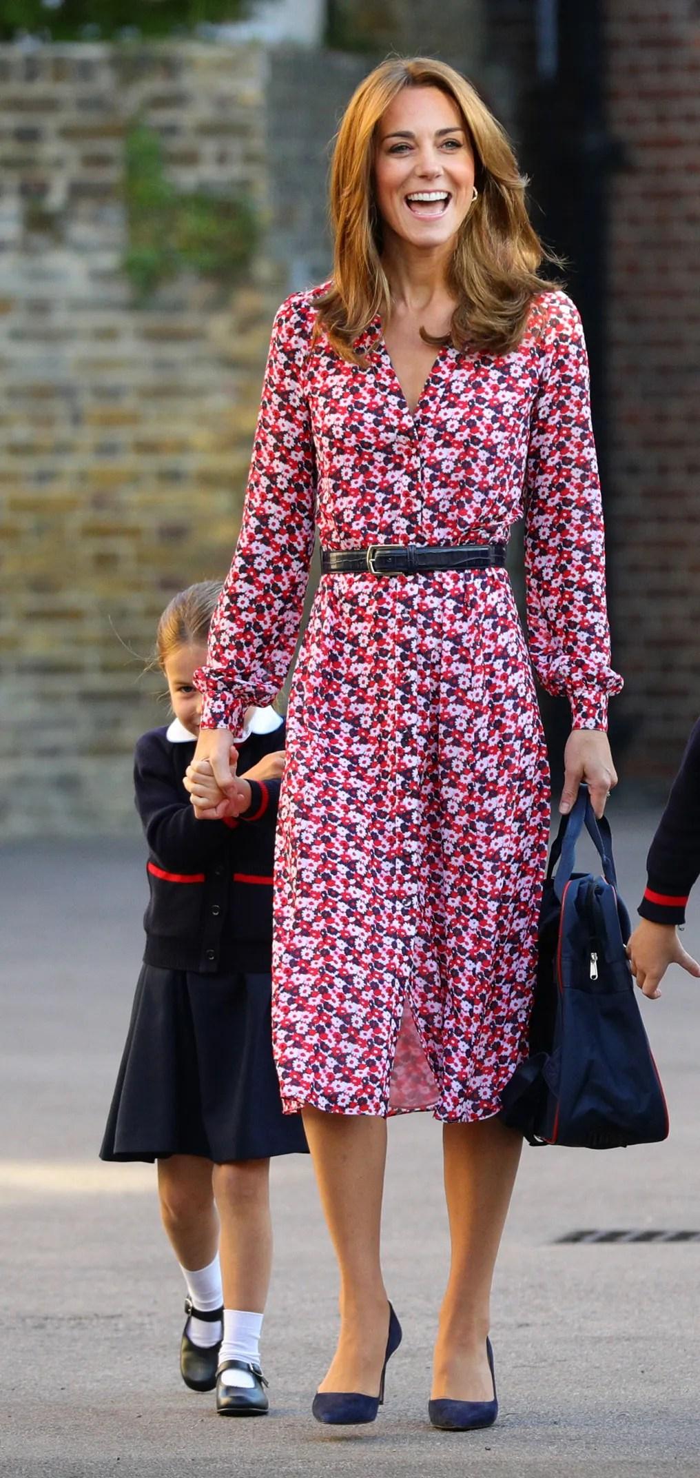 Kate Duchess : duchess, Middleton's, School, Dress, Under, Vogue