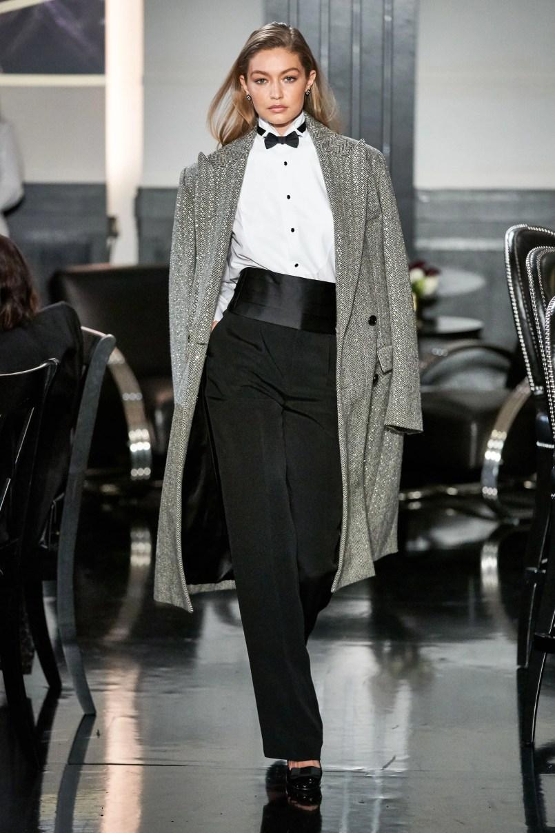 Неделя моды в Нью-Йорке: Джаз-клуб Ralph Lauren осень-зима 2019/2020