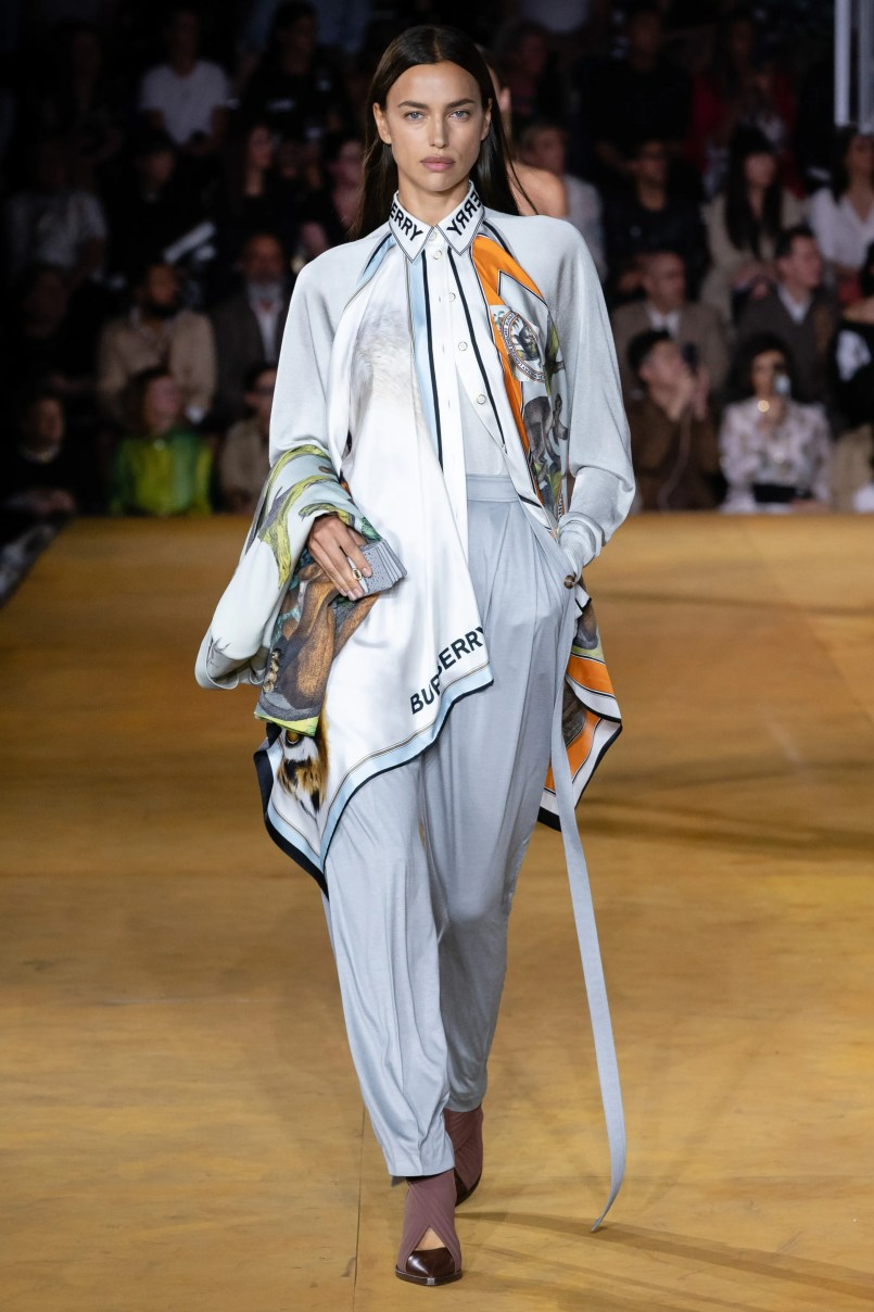 Christopher Kane и Burberry на Неделе моды в Лондоне