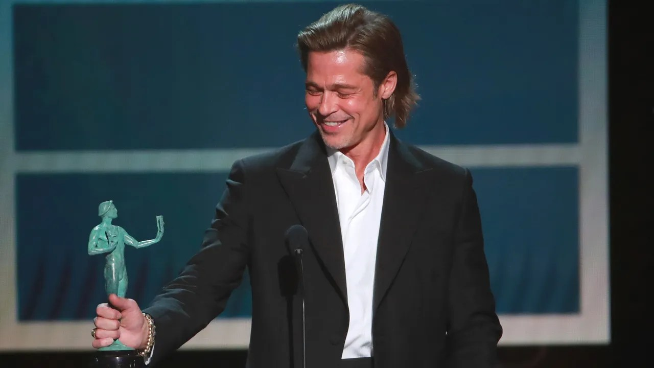 Brad Pitt S Sag Awards Acceptance 2020 Speech Was
