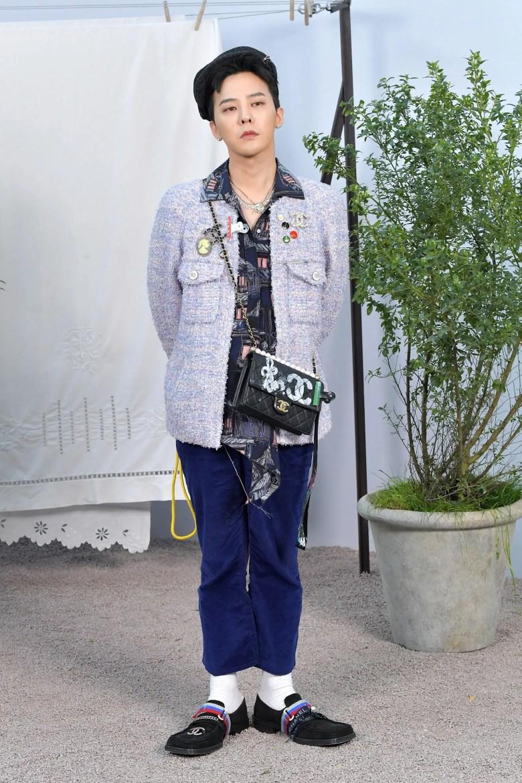 G-Dragon Makes a Chic Return to Paris Fashion Week | Vogue