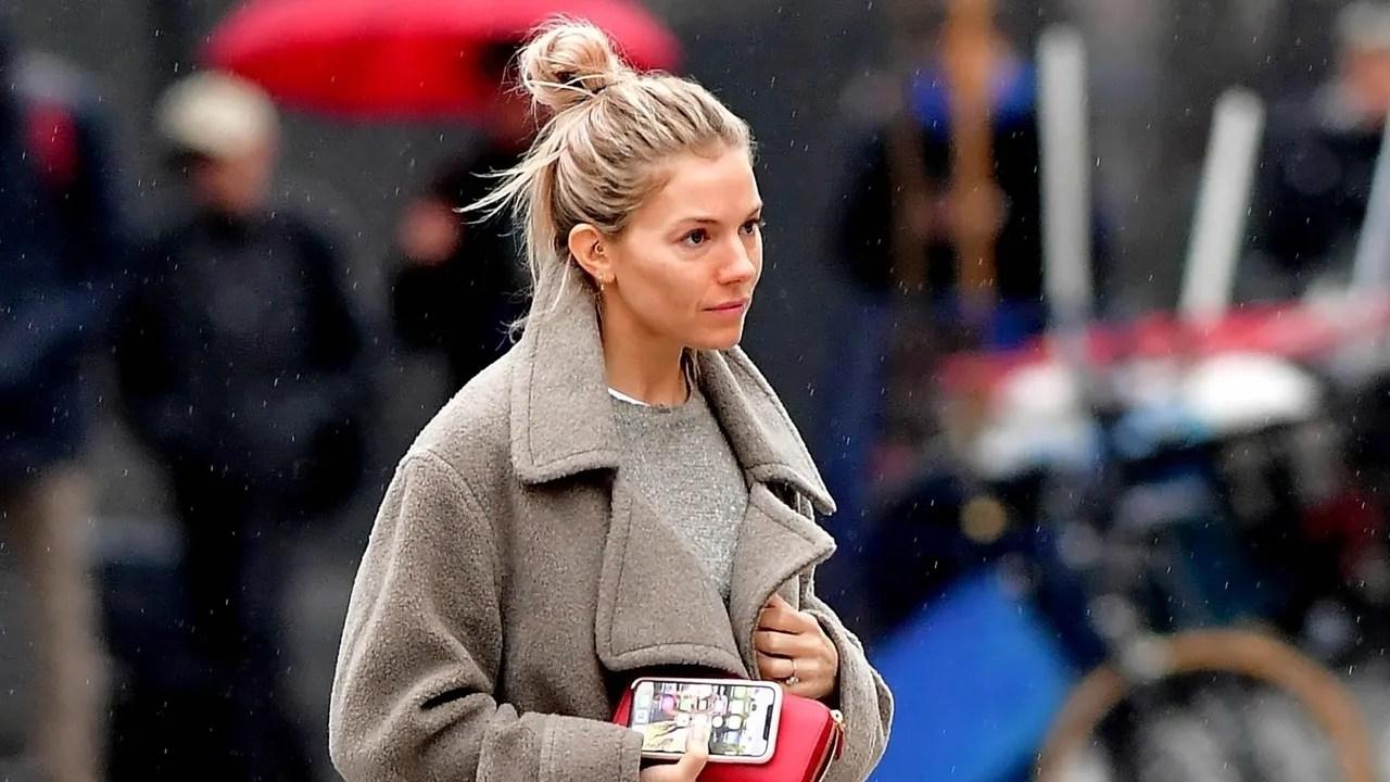 Sienna Miller Gives the House Slipper a High-Fashion Twist