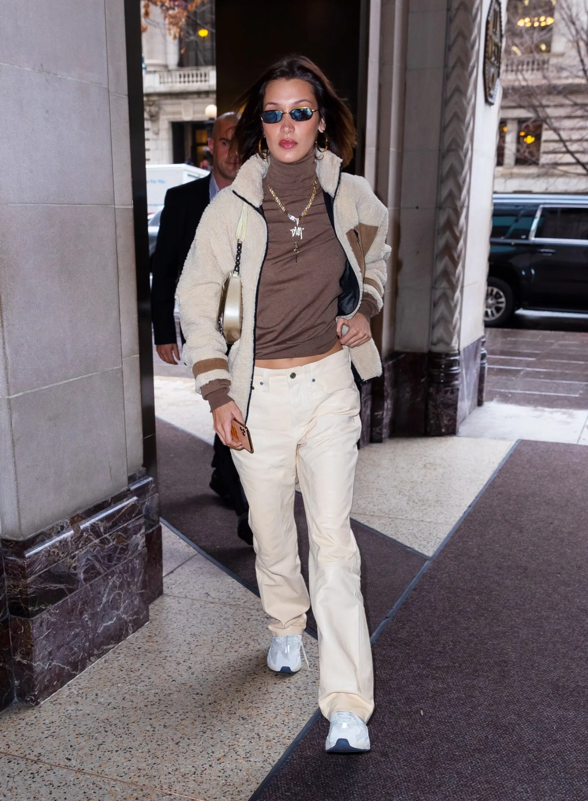 Kaia Gerber and Bella Hadid Sport a New Model OffDuty Jacket