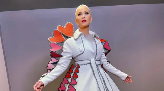 For Valentine's Day, Katy Perry is the Haute Couture queen of hearts