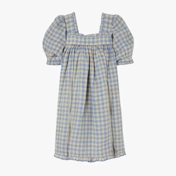 Image may contain: Clothing, Apparel, Dress, Robe, Fashion, and Pajamas