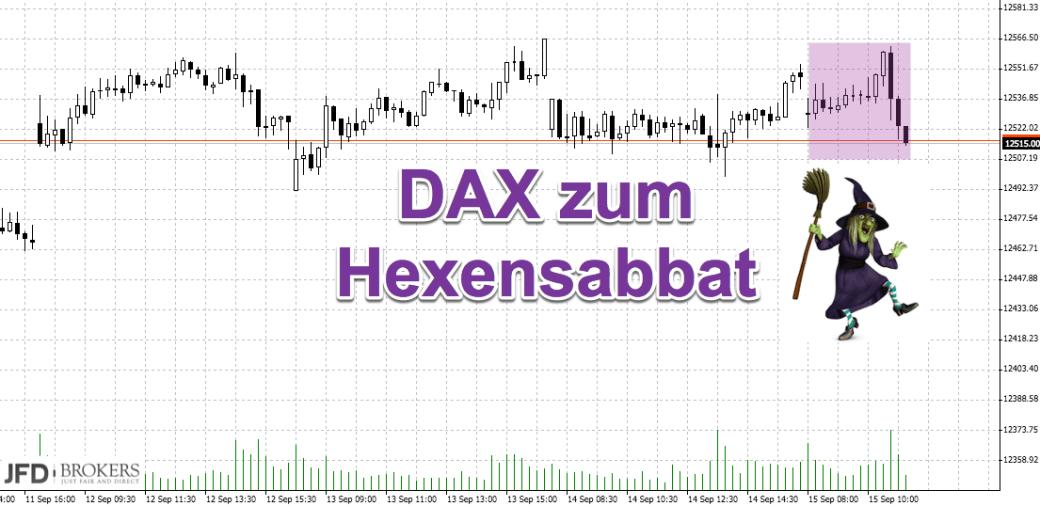 DAX lässt Range hinter sich: Hexensabbat
