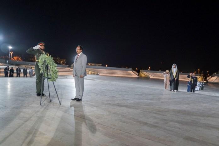 الرئيس الصومالي يزور واحة الكرامة 1