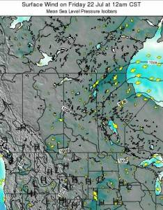 also saskatchewan surface wind on monday feb at pm cst rh tide forecast