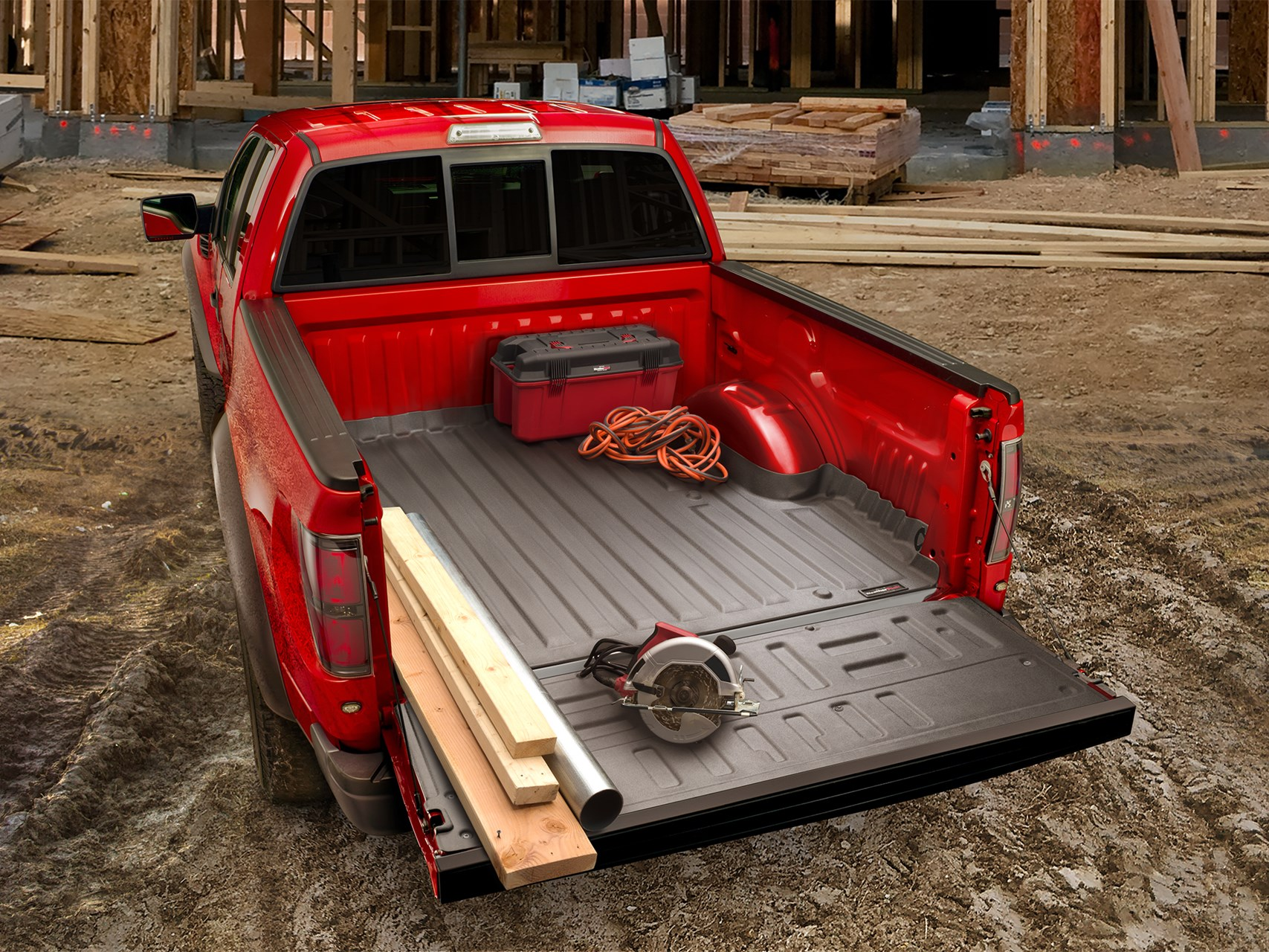 Techliner Bed Liner And Tailgate Protector For Trucks Weathertech Canada