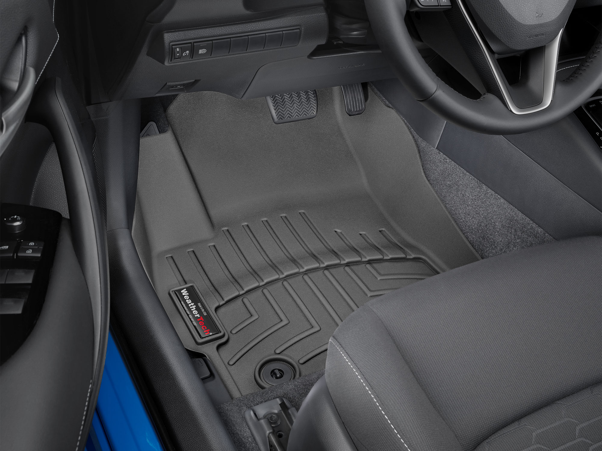 hight resolution of 2019 toyota corolla hatchback avm hd floor mats heavy duty flexible trim to fit mats weathertech