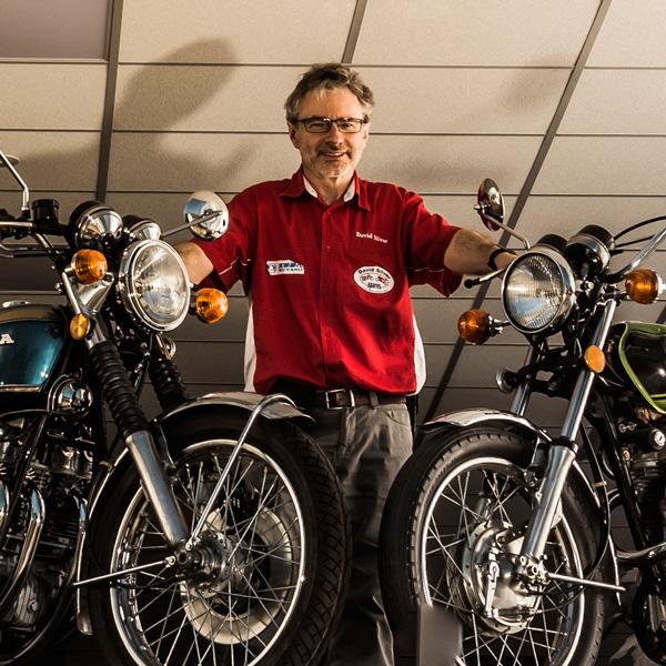 David Silver Honda Motorcycle Spare