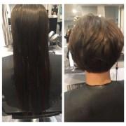 haircut & finish