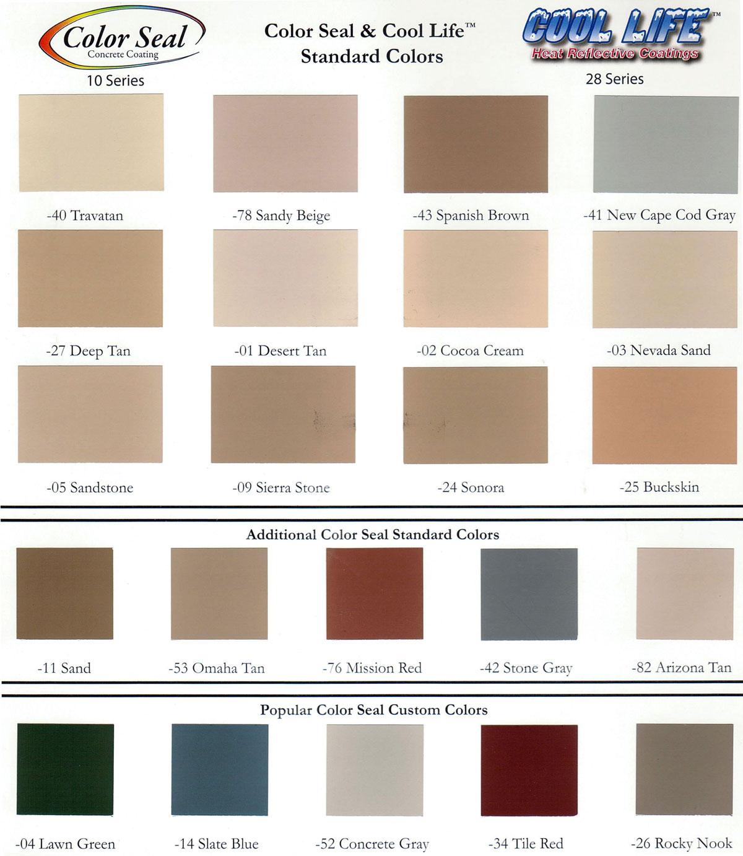 colors west coast deck
