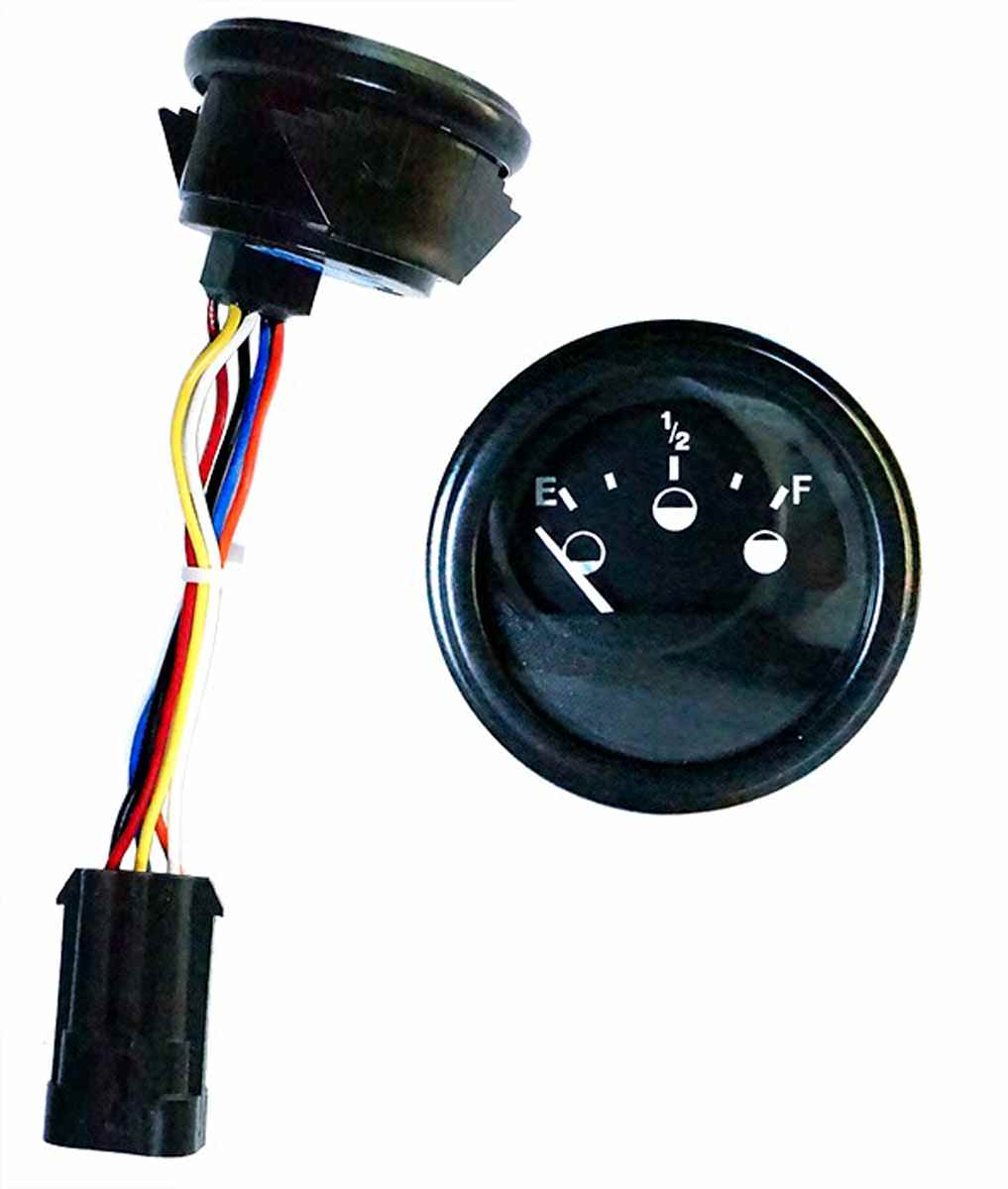 hight resolution of state of charge meter for ezgo rxv golf carts