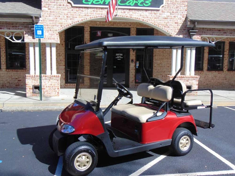 medium resolution of 2014 ezgo rxv gas red golf cart