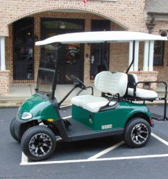 sold 2018 demo ezgo rxv green golf cart lithium [ 1200 x 900 Pixel ]