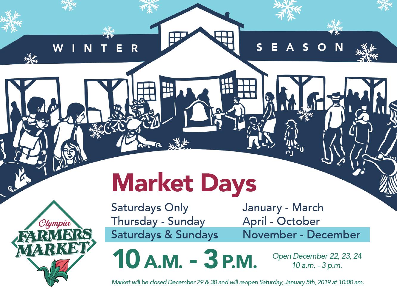 olympia farmers market announces