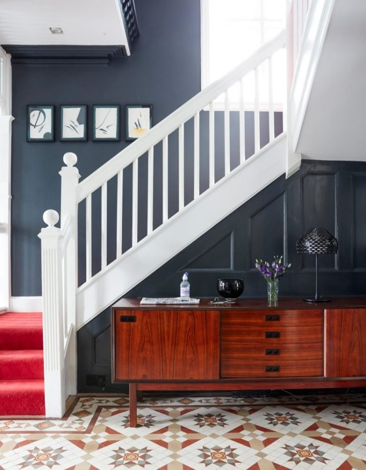 Grand Design Build Blog Statement Staircase Frame Your Front   Stair Wall Colour Design   Wood Wall   Before And After   Room Wall   Hall Colour Combination   Family