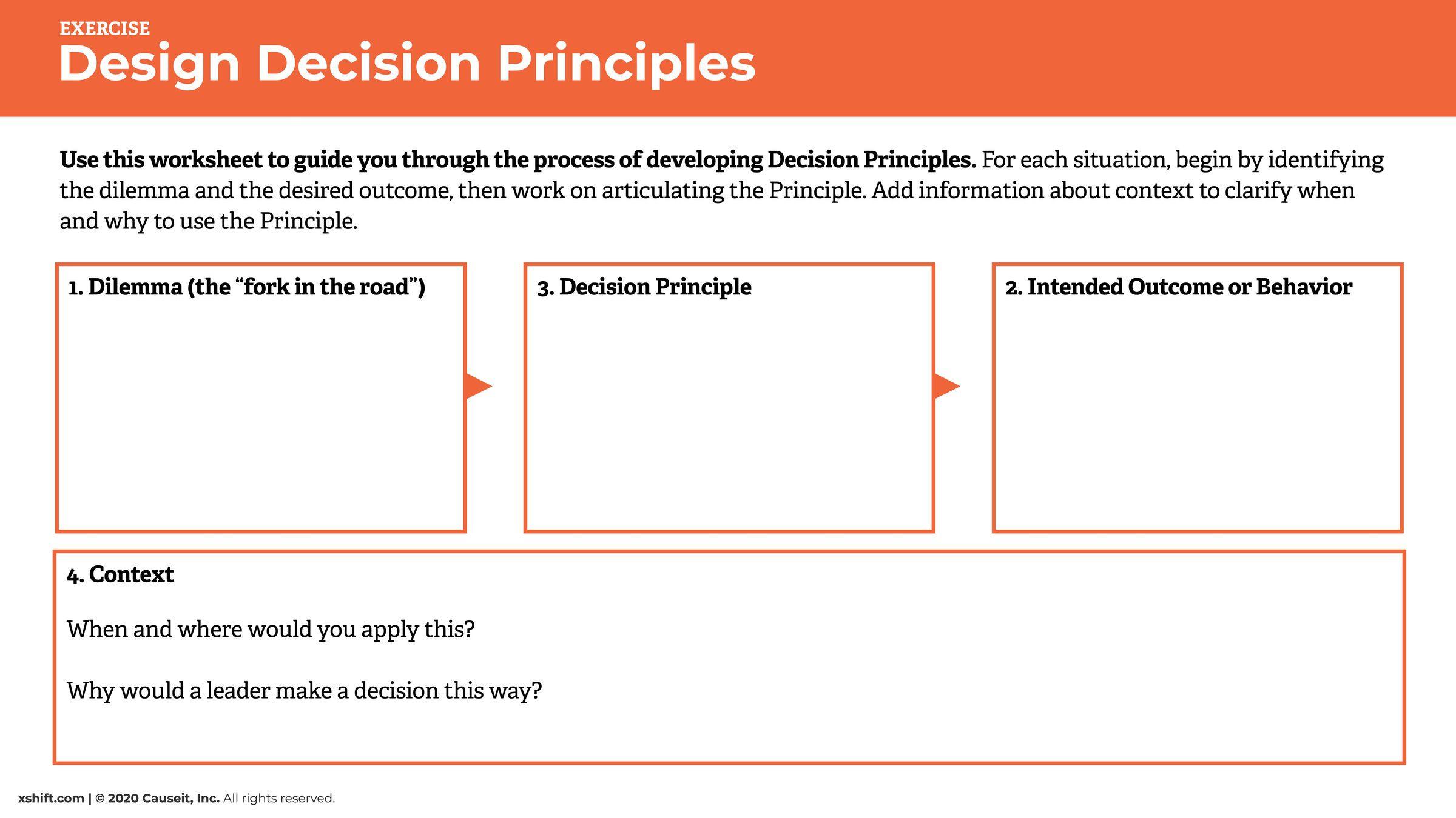 Design Amp Use Principles