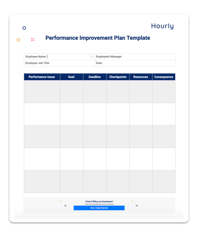What Is A Performance Improvement Plan For An Employee