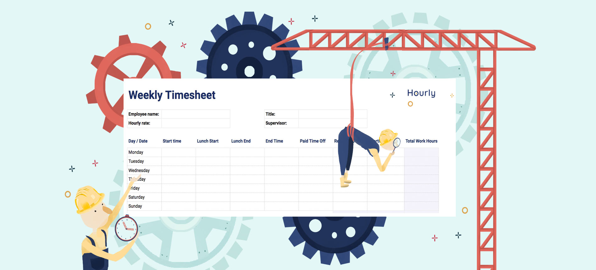 Learn more by creative bloq staff 30 march 2021 h. Free Paper Timesheet Templates And Printable Timecards Hourly Inc