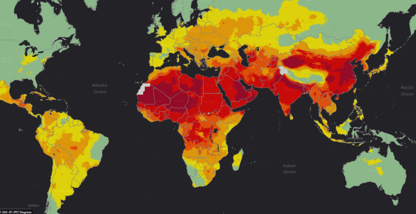 Global ambient air pollution