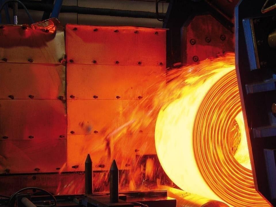 La industria del acero es uno de los sectores que tiene dificultades para descarbonizar.