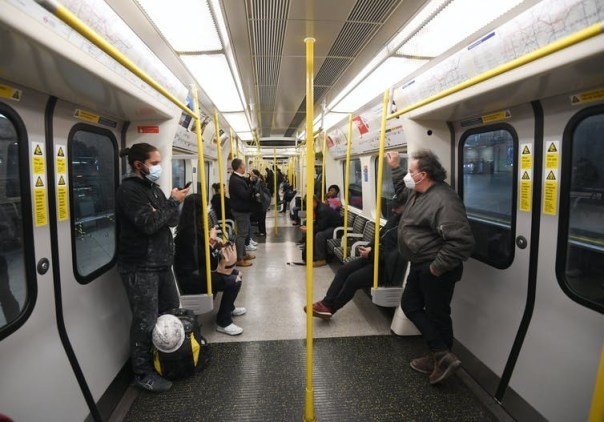 Social distancing rules mean only one in ten passengers can board public transport.
