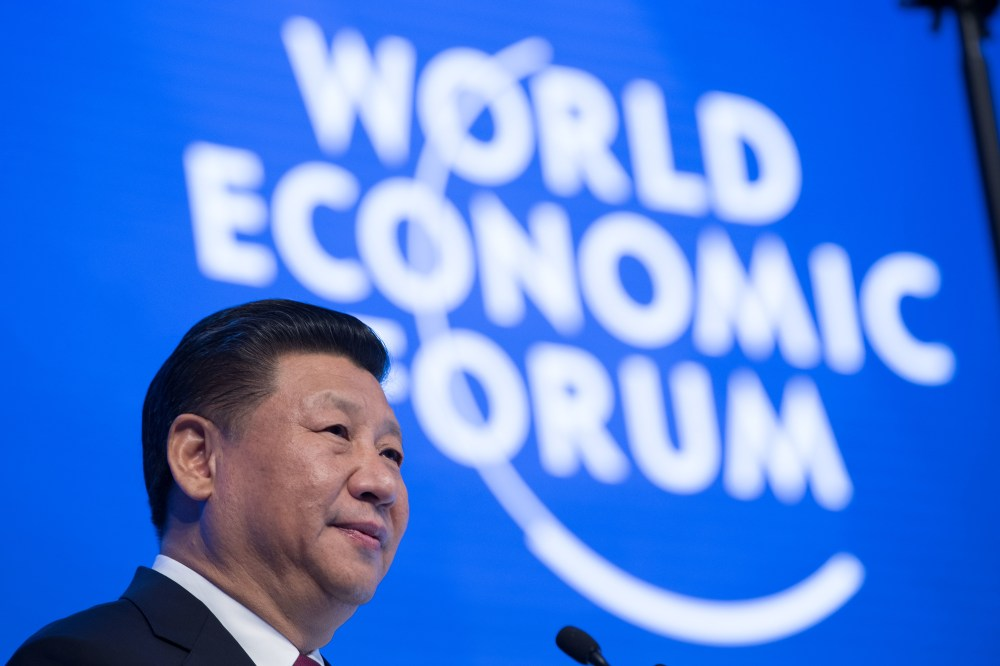 Opening Plenary with Xi Jinping, President of the People's Republic of China in Davos, January 17, 2017. Copyright by World Economic Forum / Valeriano Di Domenico