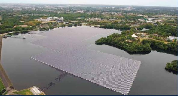 Japan's Yamakura plant is made up of almost 60,000 solar panels