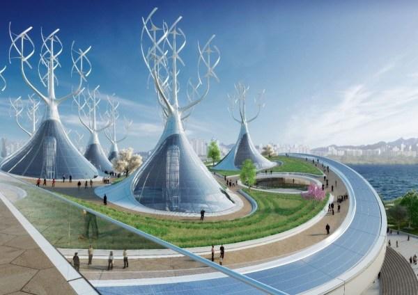 Futuristic Buildings Upside World Economic Forum