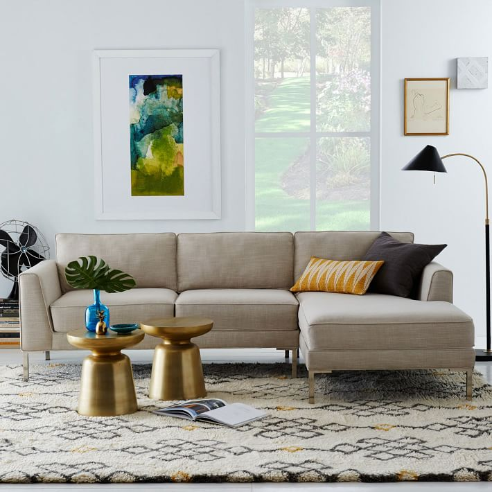 marco 2 piece chaise sectional