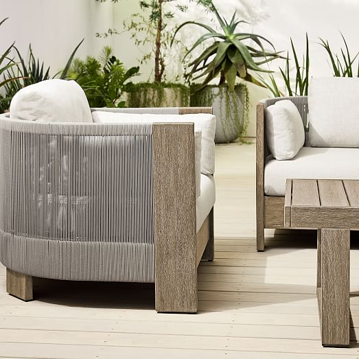 porto outdoor sofa lounge chair portside coffee table set