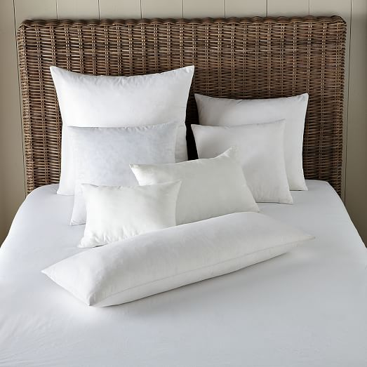 decorative pillow insert 12 x21