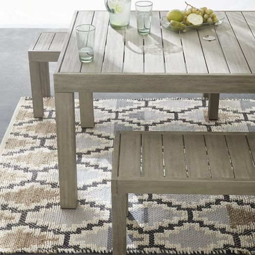 portside outdoor dining table