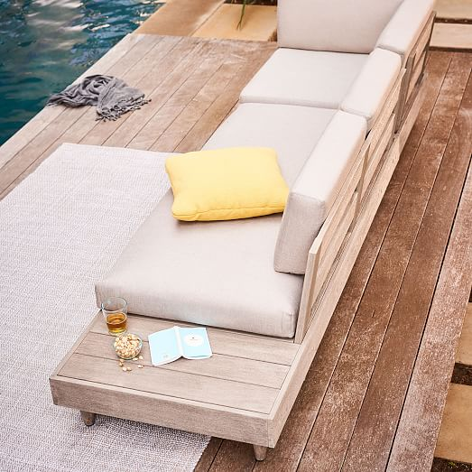 modular portside low outdoor sectional
