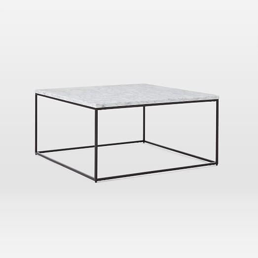streamline square coffee table
