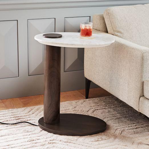 alva charging c side table